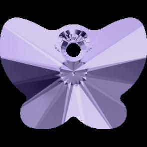 Pandantiv Swarovski 6754 BUTTERFLY PENDANT Violet (371) 18 mm