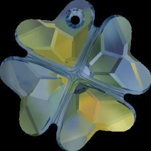Pandantiv Swarovski 6764 CLOVER PENDANT Crystal Iridescent Green (001 IRIG) 23 mm