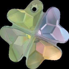 Pandantiv Swarovski 6764 CLOVER PENDANT Crystal Paradise Shine (001 PARSH) 23 mm
