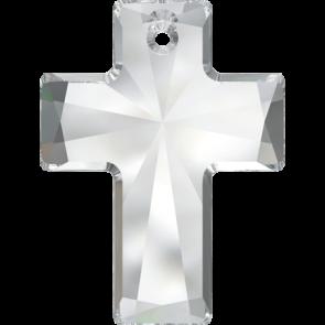 Pandantiv Swarovski 6864 Crystal (001) 40x30 mm
