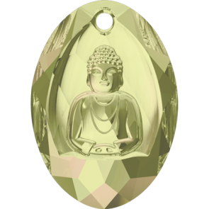 Pandantiv Swarovski 6871 BUDDHA PENDANT Crystal Luminous Green (001 LUMG) 28x19,8 mm