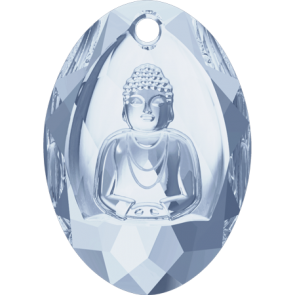 Pandantiv Swarovski 6871 BUDDHA PENDANT Crystal Blue Shade (001 BLSH) 28x19,8 mm