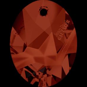 Pandantiv Swarovski 6910 Crystal Red Magma T1162 (001 REDM) 26 mm