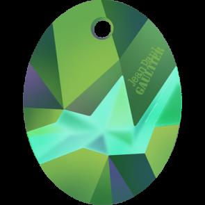 Pandantiv Swarovski 6910 Crystal Scarabaeus Green T1163 (001 SCGR) 36 mm