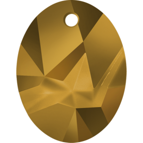 Pandantiv Swarovski 6911 Crystal Dorado (001 DOR) 36 mm