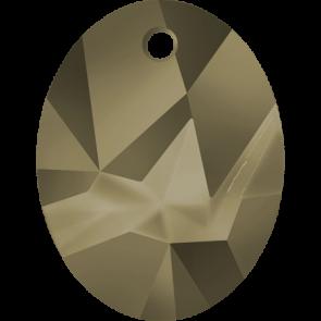 Pandantiv Swarovski 6911 Crystal Metallic Light Gold (001 MLGLD) 36 mm