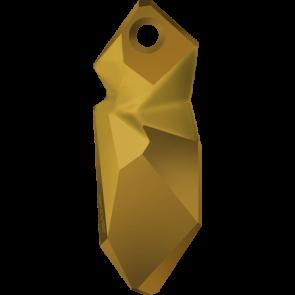 Pandantiv Swarovski 6912 Crystal Dorado T1152 (001 DOR) 28 mm