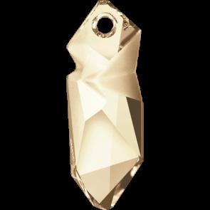 Pandantiv Swarovski 6912 Crystal Golden Shadow T1152 (001 GSHA) 28 mm