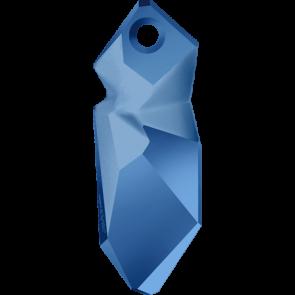 Pandantiv Swarovski 6912 Crystal Metallic Blue T1152 (001 METBL) 28 mm