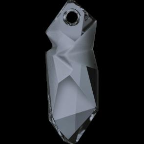 Pandantiv Swarovski 6912 Crystal Silver Night T1152 (001 SINI) 28 mm
