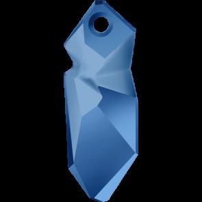 Pandantiv Swarovski 6913 Crystal Metallic Blue (001 METBL) 28 mm
