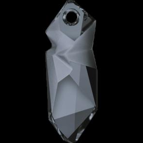 Pandantiv Swarovski 6913 Crystal Silver Night (001 SINI) 28 mm