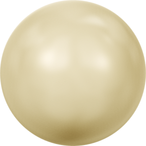 Perle Swarovski 5810 Crystal Light Gold Pearl (001 539) 3 mm