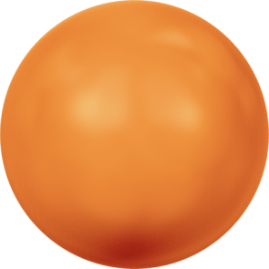 Perle Swarovski 5810 Crystal Neon Orange Pearl (001 733) 3 mm