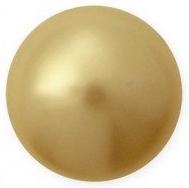 Perle Swarovski 5818 Crystal Vintage Gold Pearl (001 651) 10 mm