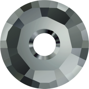 Cristale Swarovski De Cusut 3129 Black Diamond P288 (215) 7 mm
