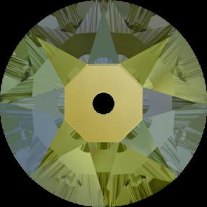 Cristale Swarovski De Cusut 3188 Crystal Iridescent Green F (001 IRIG) 3 mm