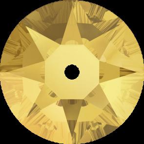 Cristale Swarovski De Cusut 3188 Crystal Metallic Sunshine F (001 METSH) 3 mm