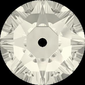 Cristale Swarovski De Cusut 3188 Crystal Silver Shade F (001 SSHA) 3 mm