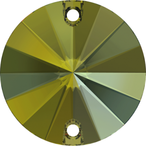 Cristale Swarovski De Cusut 3200 Crystal Iridescent Green F (001 IRIG) 10 mm