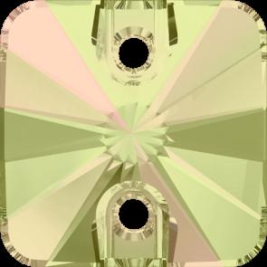 Cristale Swarovski De Cusut 3201 Crystal Luminous Green F (001 LUMG) 12 mm