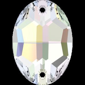 Cristale Swarovski De Cusut 3210 Crystal AB F (001 AB) 10 x 7 mm