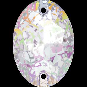 Cristale Swarovski De Cusut 3210 Crystal White Patina F (001 WHIPA) 10 x 7 mm