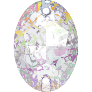 Cristale Swarovski De Cusut 3210 Crystal White Patina F (001 WHIPA) 16 x 11 mm