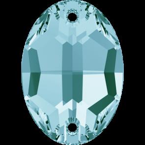 Cristale Swarovski De Cusut 3210 Light Turquoise F (263) 10 x 7 mm