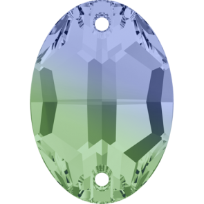 Cristale Swarovski De Cusut 3210 Pro.Lav-Chrys. Blend (726) 10 x 7 mm