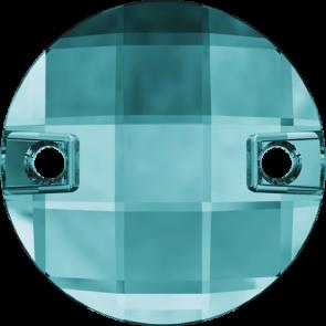 Cristale Swarovski De Cusut 3220 Blue Zircon F (229) 10 mm