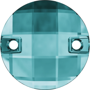 Cristale Swarovski De Cusut 3220 Blue Zircon F (229) 14 mm