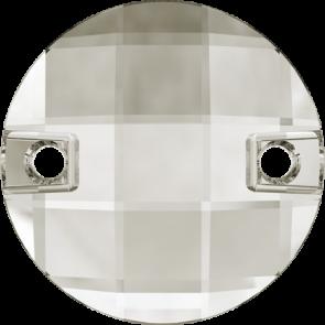 Cristale Swarovski De Cusut 3220 Crystal Silver Shade F (001 SSHA) 10 mm