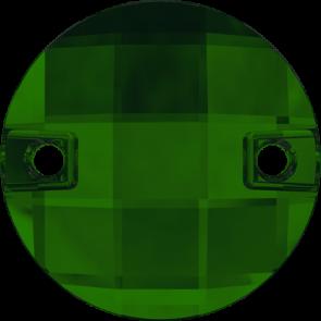 Cristale Swarovski De Cusut 3220 Dark Moss Green F (260) 14 mm