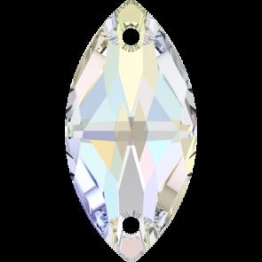 Cristale Swarovski De Cusut 3223 Crystal AB F (001 AB) 18 x 9 mm