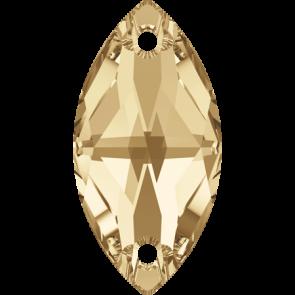 Cristale Swarovski De Cusut 3223 Crystal Golden Shadow F (001 GSHA) 18 x 9 mm