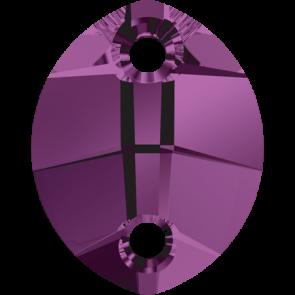 Cristale Swarovski De Cusut 3224 Amethyst (204) 14 x 11 mm