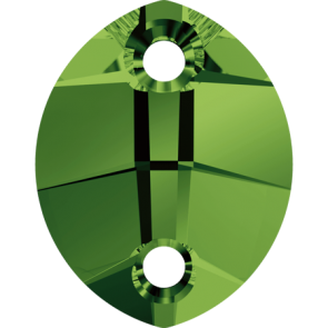 Cristale Swarovski De Cusut 3224 Dark Moss Green (260) 14 x 11 mm