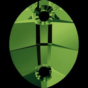 Cristale Swarovski De Cusut 3224 Dark Moss Green (260) 23 x 18 mm
