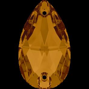Cristale Swarovski De Cusut 3230 Crystal Copper F (001 COP) 12 x 7 mm