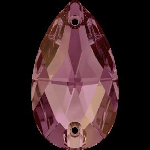 Cristale Swarovski De Cusut 3230 Crystal Lilac Shadow F (001 LISH) 12 x 7 mm