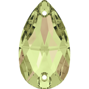 Cristale Swarovski De Cusut 3230 Crystal Luminous Green F (001 LUMG) 12 x 7 mm