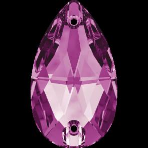 Cristale Swarovski De Cusut 3230 Fuchsia F (502) 12 x 7 mm