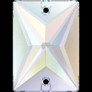 Cristale Swarovski De Cusut 3250 Crystal AB F (001 AB) 18 x 13 mm