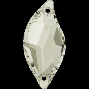 Cristale Swarovski De Cusut 3254 Crystal Silver Shade F (001 SSHA) 20 x 9 mm