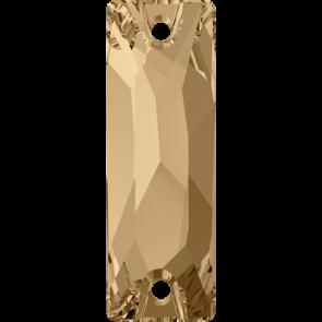 Cristale Swarovski De Cusut 3255 Crystal Golden Shadow F (001 GSHA) 26 x 8,5 mm