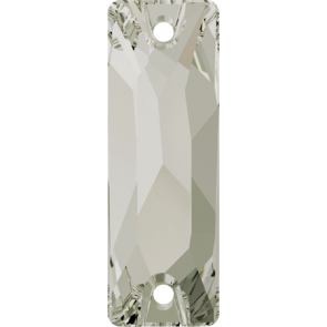 Cristale Swarovski De Cusut 3255 Crystal Silver Shade F (001 SSHA) 18 x 6 mm