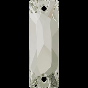 Cristale Swarovski De Cusut 3255 Crystal Silver Shade F (001 SSHA) 26 x 8,5 mm