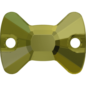 Cristale Swarovski De Cusut 3258 Crystal Iridescent Green F (001 IRIG) 12 x 8,5 mm