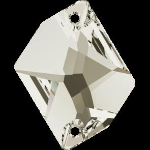 Cristale Swarovski De Cusut 3265 Crystal Silver Shade F (001 SSHA) 20 x 16 mm